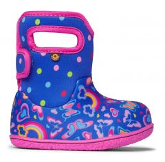 BOGS baby bogs rainbow multi blue