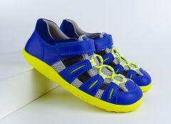 Bobux I-Walk / Kid+ Summit Blueberry & Neon Action Sandal