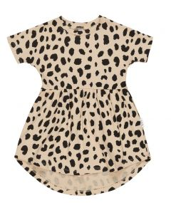Huxbaby Leopard Spot Swirl Dress
