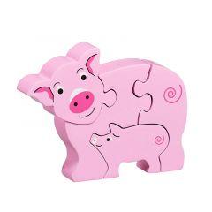 Lanka Kade Pig & Piglet Jigsaw