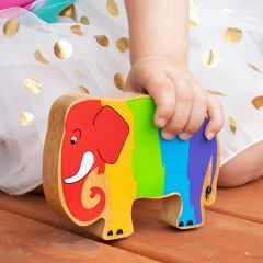 Lanka Kade limited edition colourful rainbow elephant