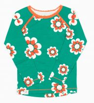 Alba Pepper Green Flowers Ghita Blouse