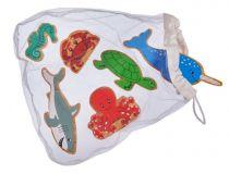 Lanka Kade Sea Life Animals - Bag of 6