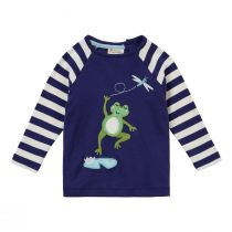 Piccalilly Frog Raglan Top