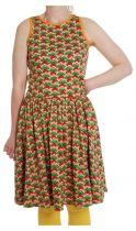 DUNS Radish Canteloupe Twirly Gathered Dress LADIES
