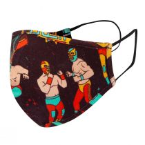 Piccalilly Kids Face Covering - Wrestler