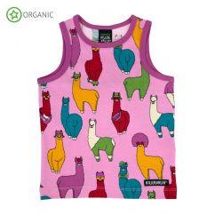 Villervalla Pink Llama Tanktop