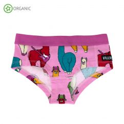 Villervalla Pink Llama Briefs