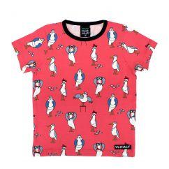 Villervalla 'Tulip' Red Seagull T-shirt