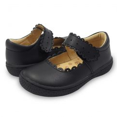 Livie and Luca Briar Black barefoot shoes
