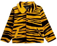 Mini Rodini Tiger Velour Jacket
