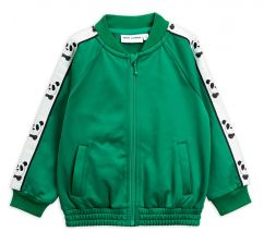 Mini Rodini Green Panda Jacket