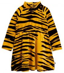 Mini Rodini Tiger Velour Dress