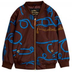 Mini Rodini Rope Baseball Jacket
