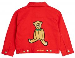 Mini Rodini Denim Twill Teddybear Jacket