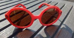 Mini Rodini Red Sunglasses