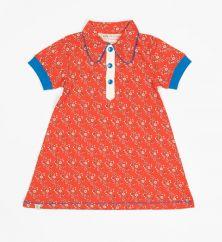 Alba Julie Dress Spicy Orange Liberty Love
