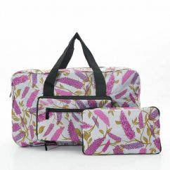 Eco Chic holdall grey buddleia