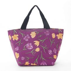 Eco Chic small cool bag crocus
