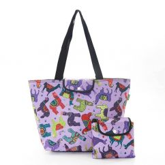 Eco Chic large cool bag llamas