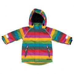 Villervalla Winter Jacket Multistripe Madrid