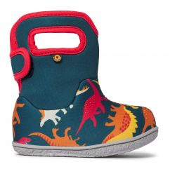BOGS baby bogs dino multi red & orange