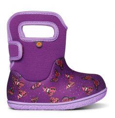 BOGS Baby Bogs Classic Butterflies Purple