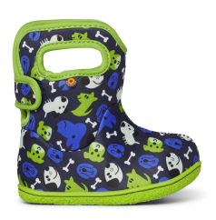 BOGS Baby Bogs Classic Puppies Blue/Green