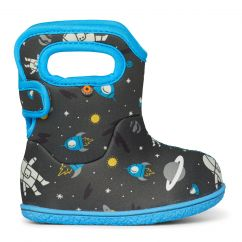 BOGS Baby Bogs Classic Space Man Grey/Blue