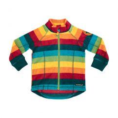 Villervalla Fleece Jacket Multistripe Athens