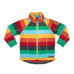 Villervalla Fleece Jacket Dublin Stripes