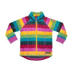 Villervalla Fleece Jacket Multistripe Madrid