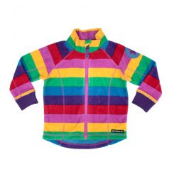 Villervalla Fleece Jacket Paris Stripes