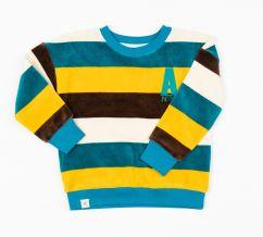 Alba Turkish Tiles Love Stripes Sweatshirt