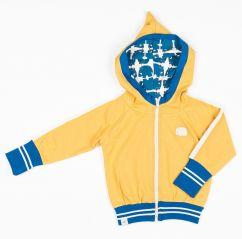 Alba Bright Gold Robin Zip Hood