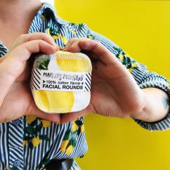 Marley's Monster vintage lemons facial rounds