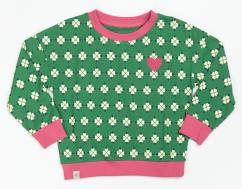 Alba Aia Ladies Juniper Heartbreaking Loveprint Sweatshirt