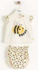 The Bonniemob Bee Happy Bloomer Set