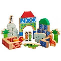 Lanka Kade Zoo Building Blocks (40 pieces)