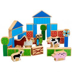 Lanka Kade Farm Building Blocks (40 pieces)
