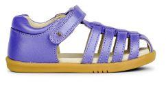 Bobux I-Walk Jump Closed Toe Sandal Grape Shimmer