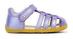 Bobux Step Up Jump Closed Toe Sandal Grape Shimmer