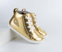 Bobux I-Walk / Kid+ Alley-Oop Gold Metallic