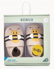 The Bonniemob x Bobux Bee Soft Sole Shoes