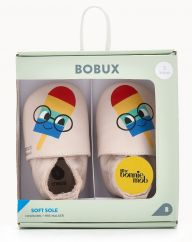 The Bonniemob x Bobux Ice Lolly Soft Sole Shoes