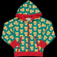 Maxomorra Cat Hooded Sweat Cardigan