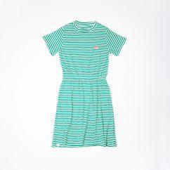 Alba Aia Ladies Carla Dress Pepper Green Stripe