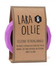 Lara and Ollie crocus teething bangle
