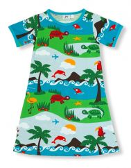 JNY dolphin island dress