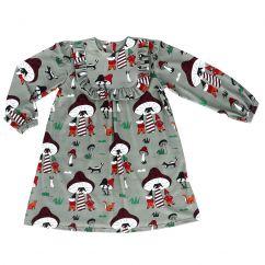 Raspberry Republic Elves & Gnomes Dress